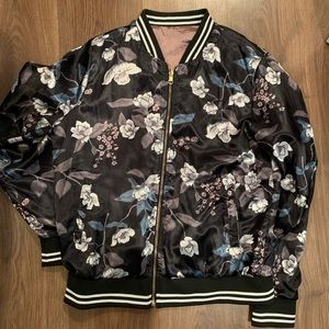 Jackets & Blazers - Reversible satin jacket